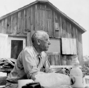Aldo Leopold, co-founder of the Conservation Biology Major